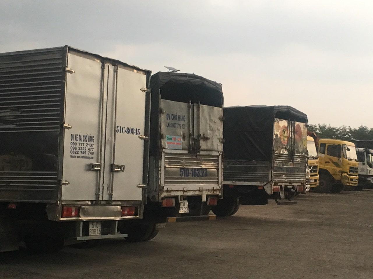 Cho thuê xe tải chở hàng giá rẻ tại tphcm