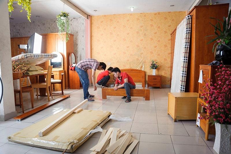 Chuyển chung cư trọn gói giá rẻ tại TPHCM