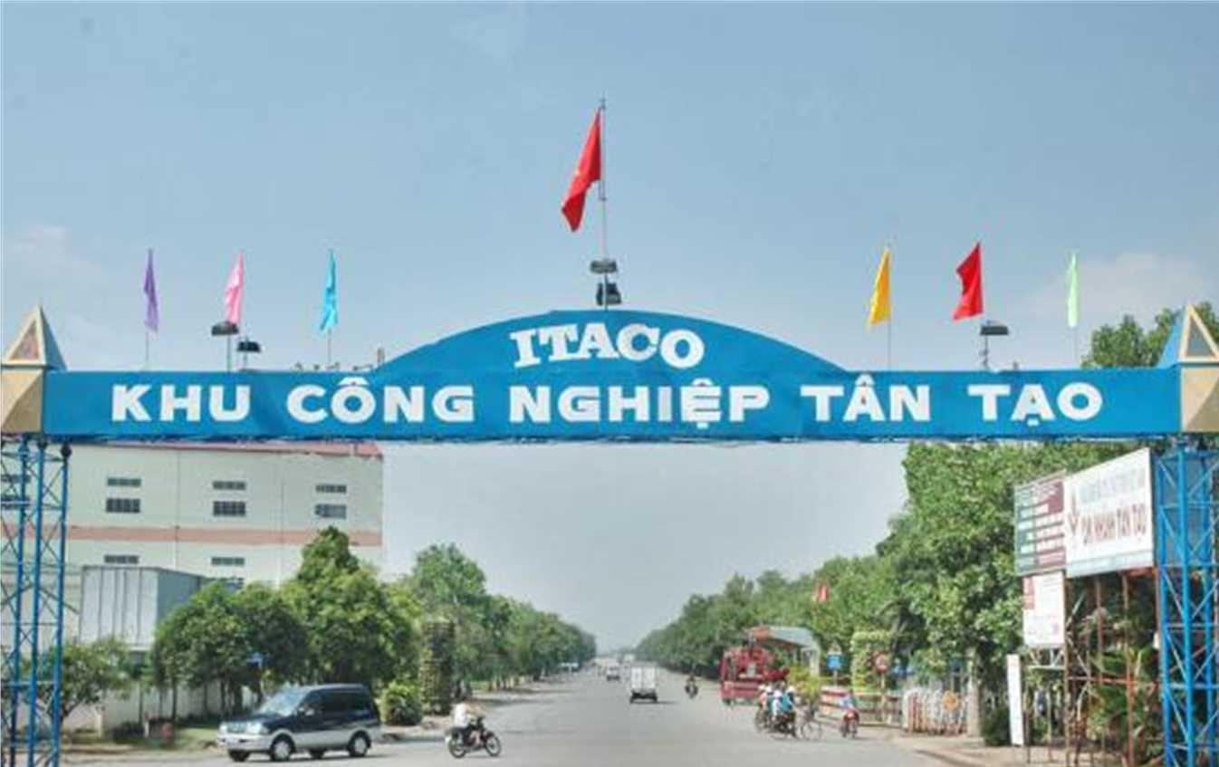 Xe tải chở hàng kcn Tân Tạo - Quận Bình Tân