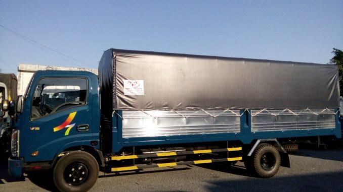 xe tải chở hàng thùng dài 6m