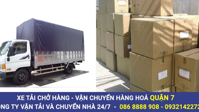 Cho thuê xe tải chở hàng Quận 7Vận chuyển hàng hoá tphcm