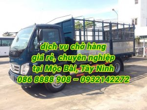 Dịch vụ vận tải, cho thuê xe tải chở hàng tại Mộc Bài, Tây Ninh