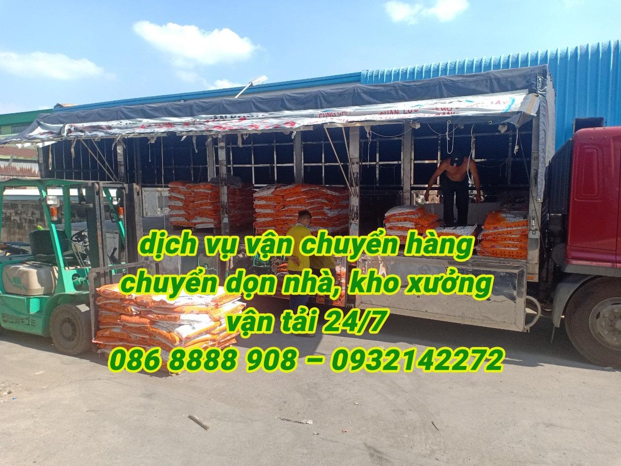 Dịch vụ cho thuê xe tải- vận chuyển hàng hoá